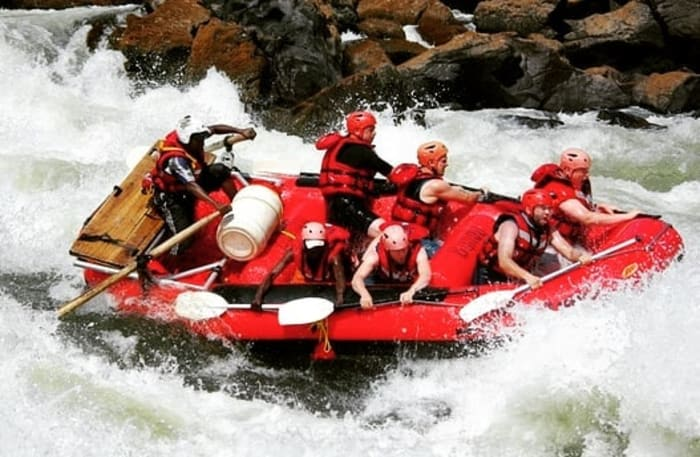 Three day rafting adventure in Victoria Falls