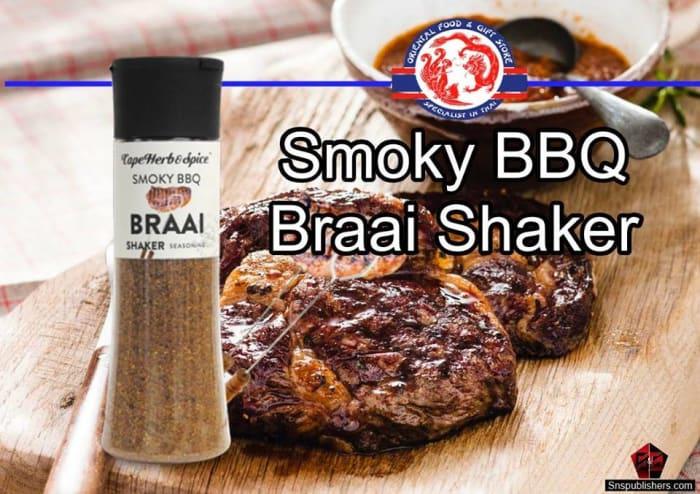 Braai seasoning available in stock