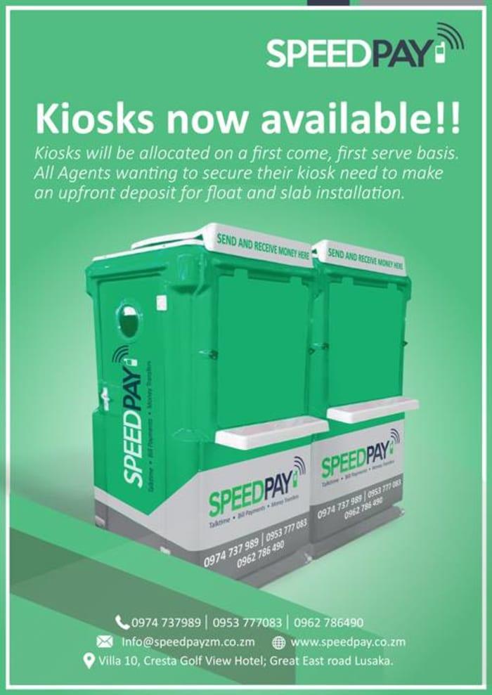 New kiosks coming soon