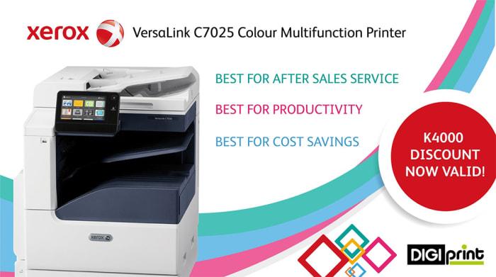 VersaLink C7025 Colour Multifunction Printer