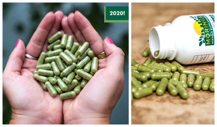 Miracle Moringa capsules, for all round health in 2020