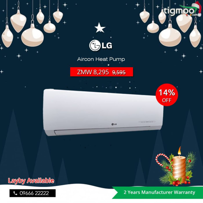 Price slashed on LG Aircon heatpump