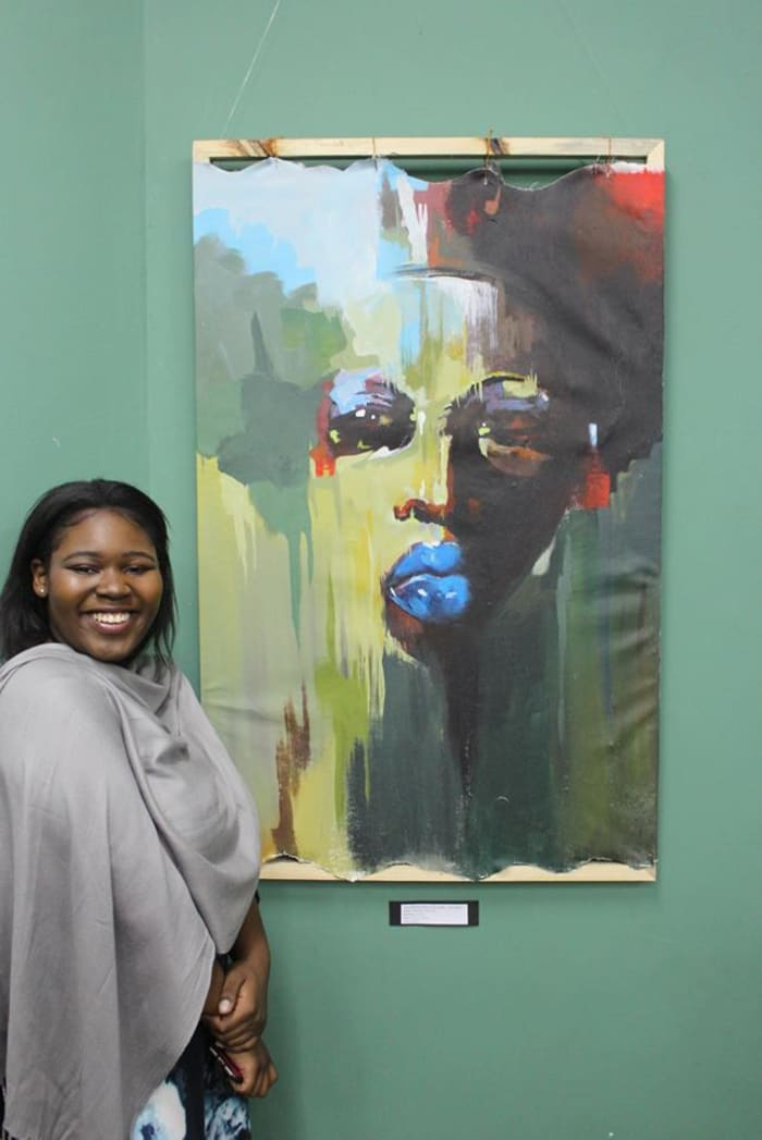 Students showcase work in visual arts exhibition