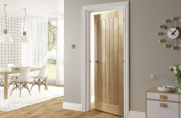 Comprehensive range of flush and solid panel hardwood doors made from mukwa