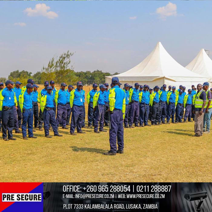 Security solutions for large events