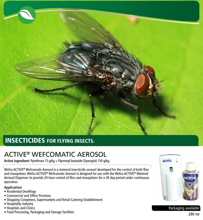 Insecticides for flying insects at Afrivest