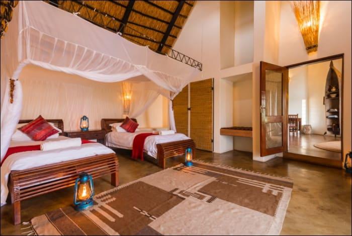 2 Night escape - Mukambi Safari Lodge (green and peak season)
