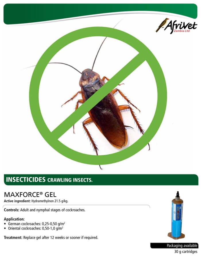 Pest control products available at Afrivet