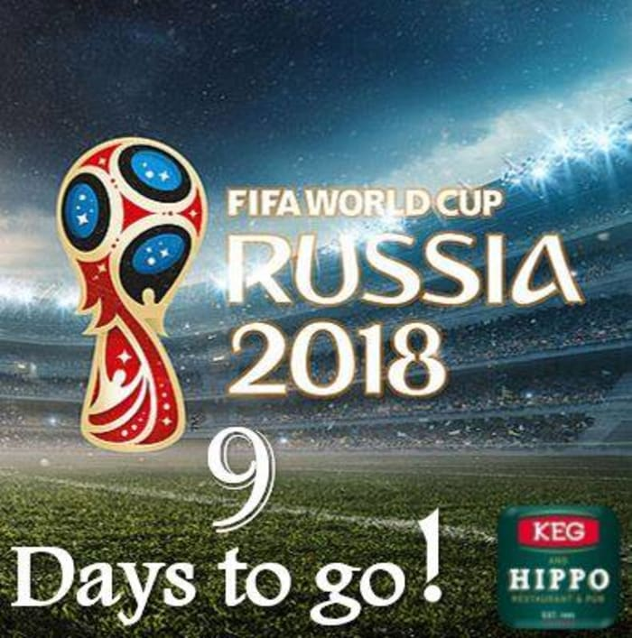 Watch the World Cup live at Keg and Hippo