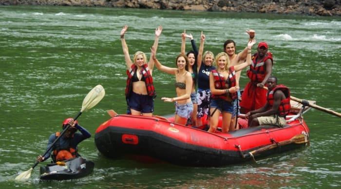 Zambezi white water rafting season closes due to rising water levels