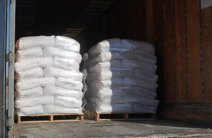 Delivery service of agricultural lime products available direct to farms