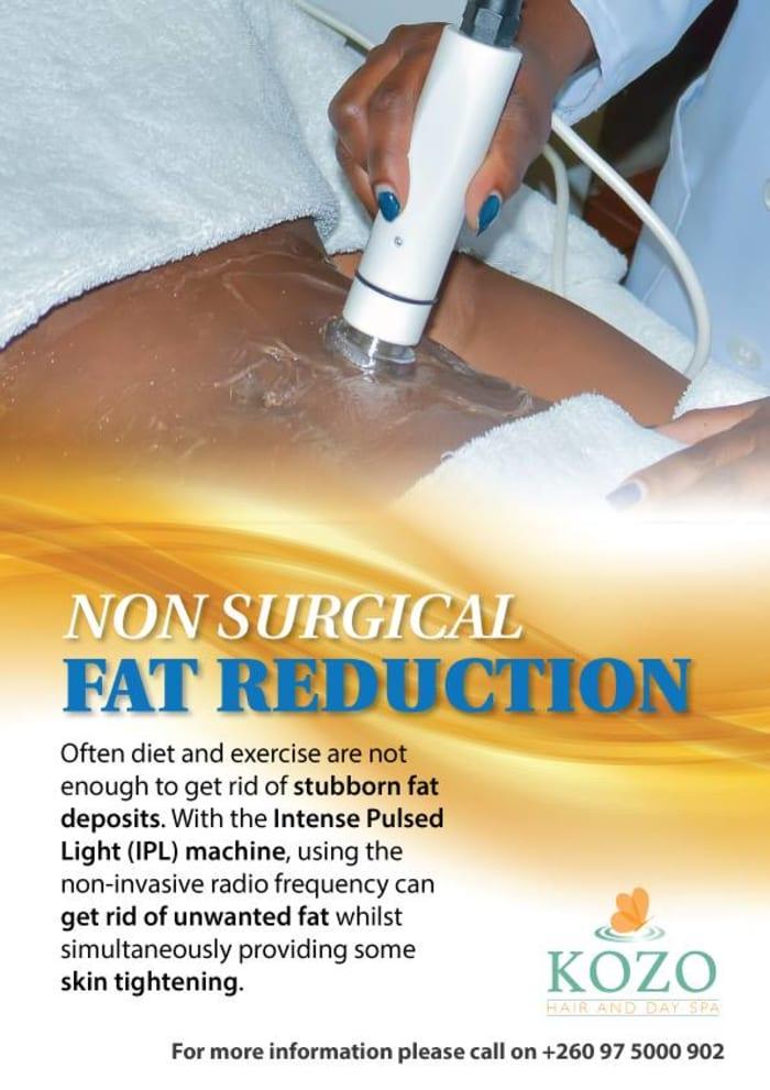 Non-surgical fat reduction procedure