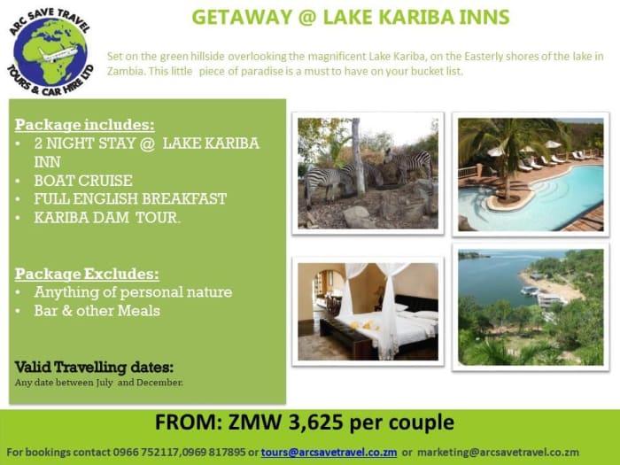 Lake Kariba 2 nights package