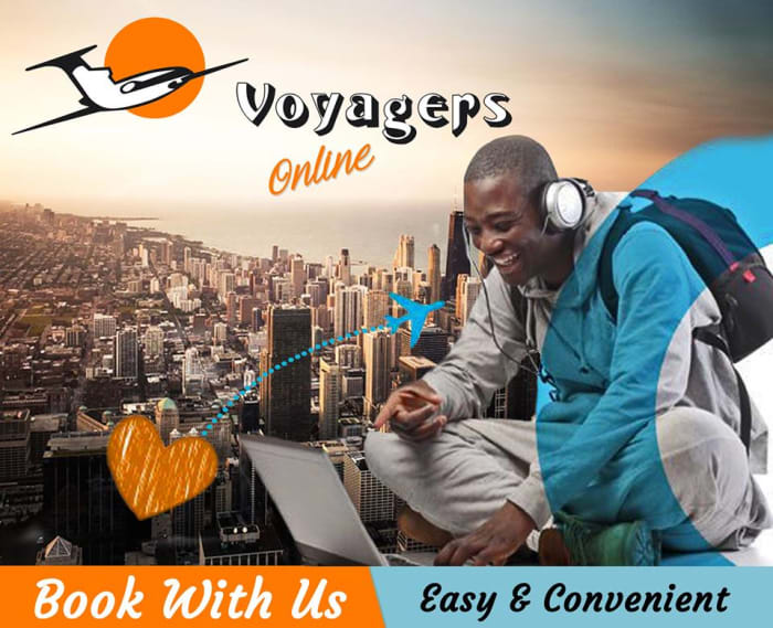 Book your own flights online with Voyagers