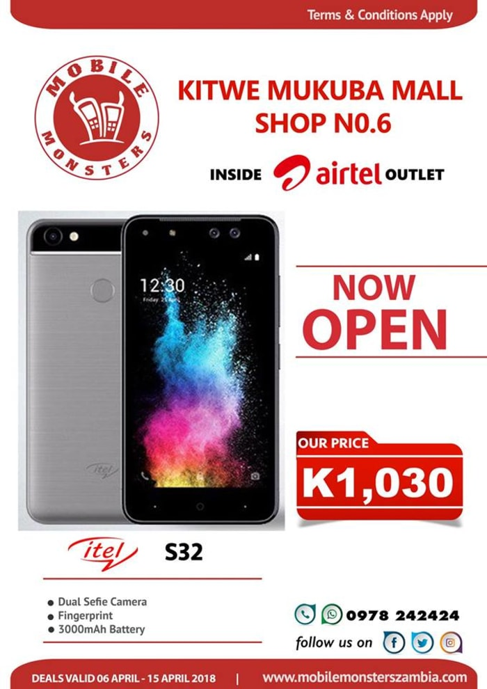 New Mobile Monsters outlet opens in Kitwe