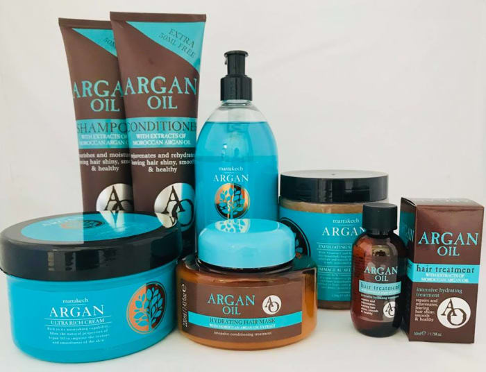 New range of Argan Oil products in stores