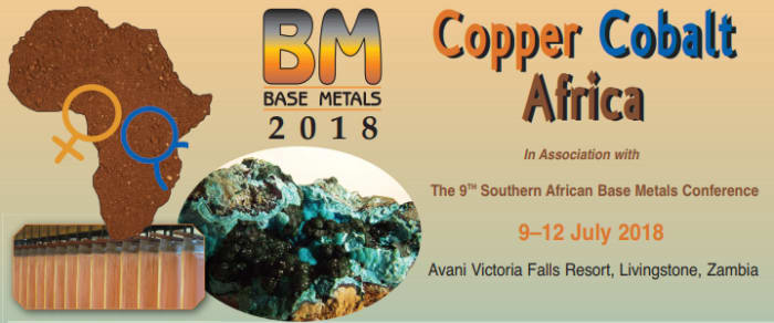 Copper Cobalt Africa - 9th Base Metals Conference