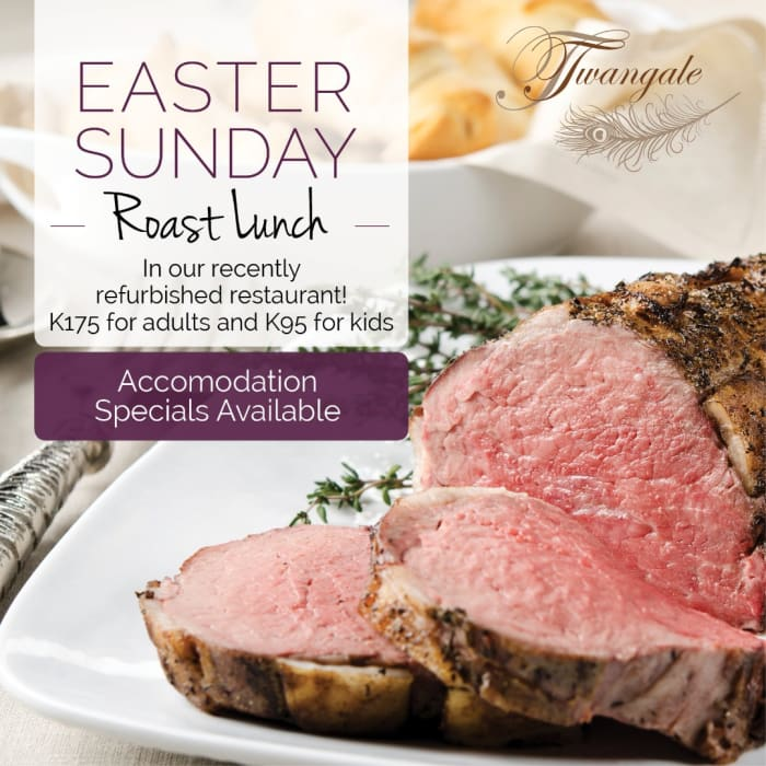 Easter Sunday roast lunch