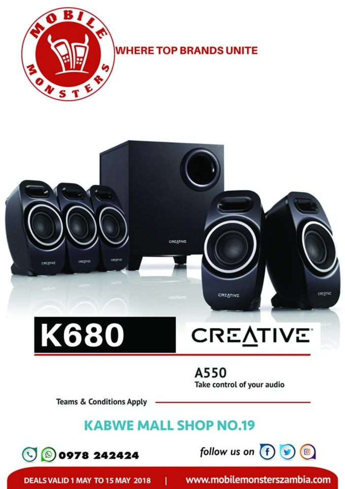Sound system available in stores