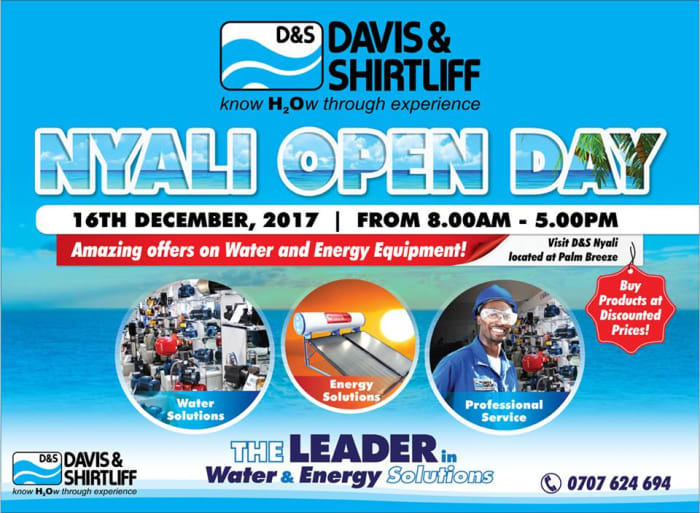 Nyali Open Day at Davis and Shirtlif