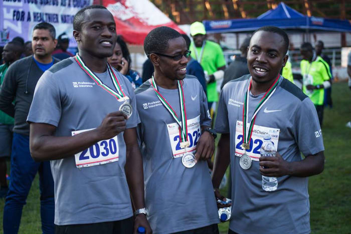 PICZ takes part in Inter Company Relay hosted by Zambia Amateur Athletic Association