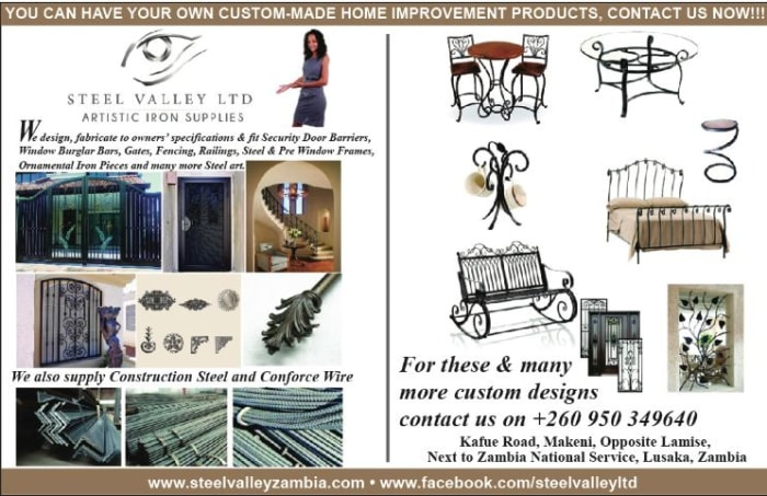 Artistic wrought iron products