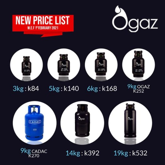 New price list 2021