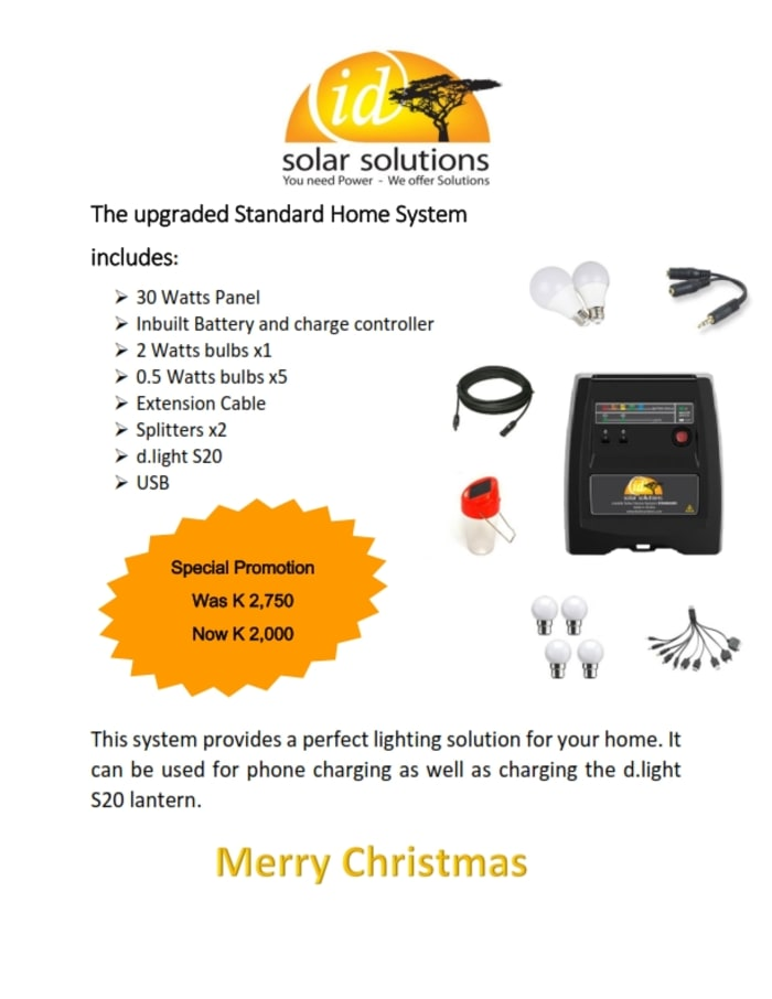 Id Solar Solutions special promotions