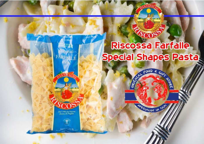 Special shape pasta available in stock