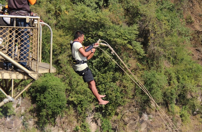Abseiling, Flying Fox and Gorge Swing near Victoria Falls