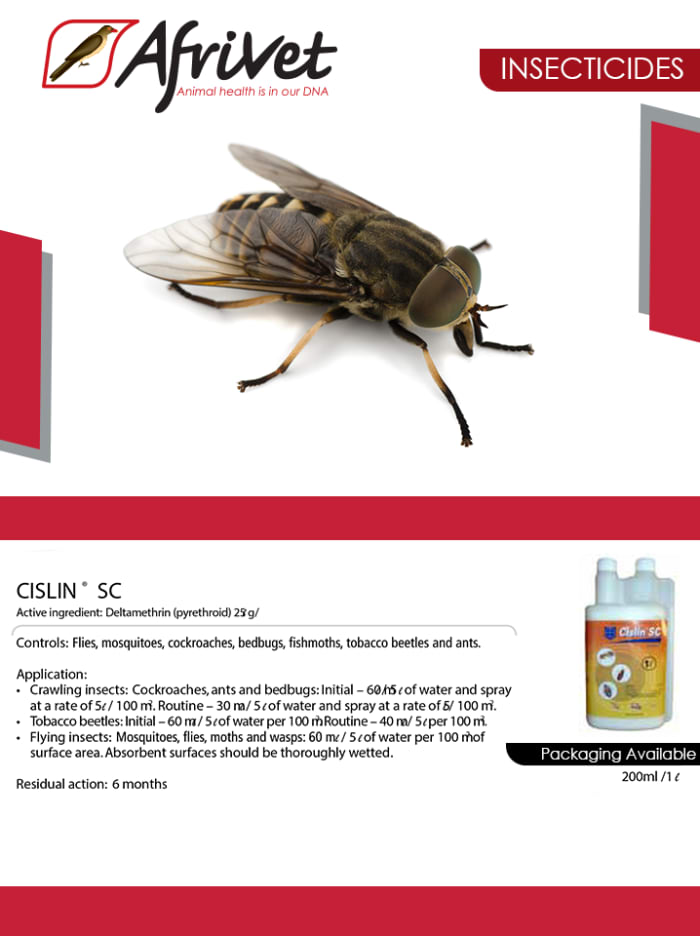 Cislin insecticide available in stock