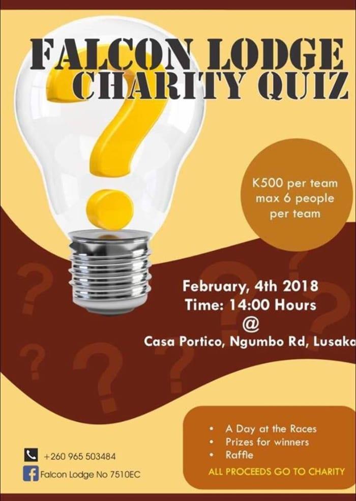 Fundraising Charity Quiz