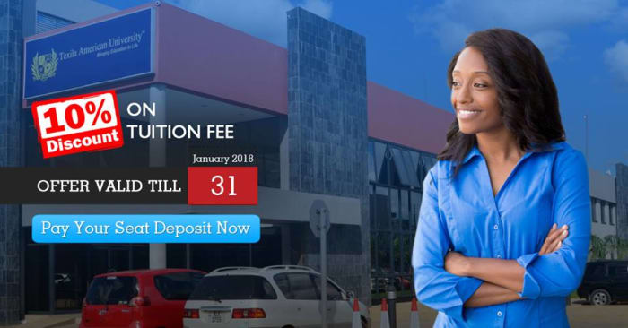 Get 10% scholarship on university tuition fees