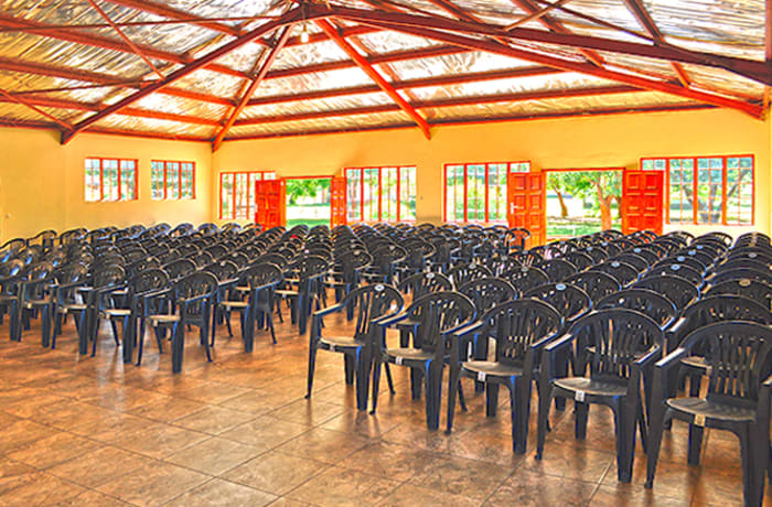 State-of-the-art conference hall - seats up to 250 delegates