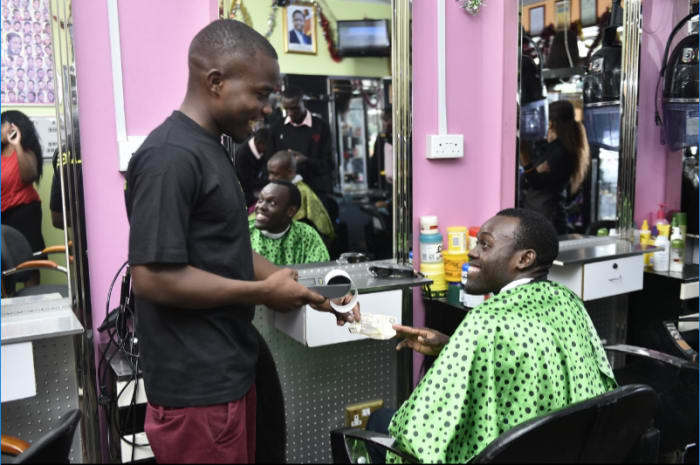Payment machines for barbers