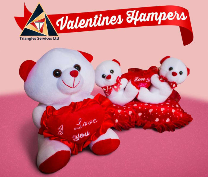 Valentine's hampers available