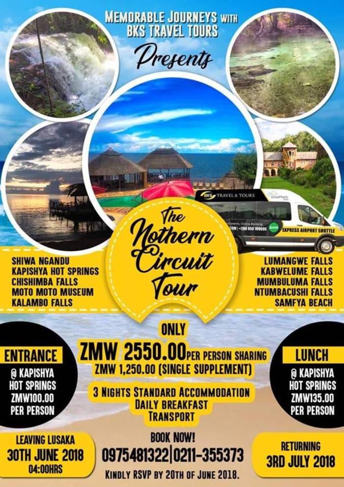 Northern circuit road trip