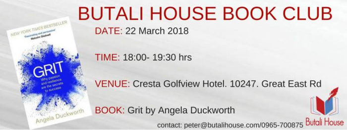 'Grit' book discussion