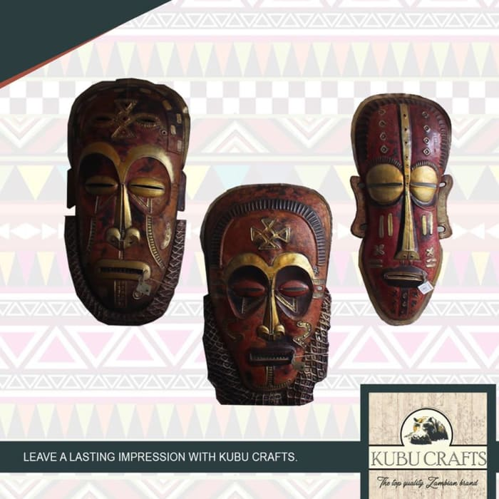 Decorative masks available in store