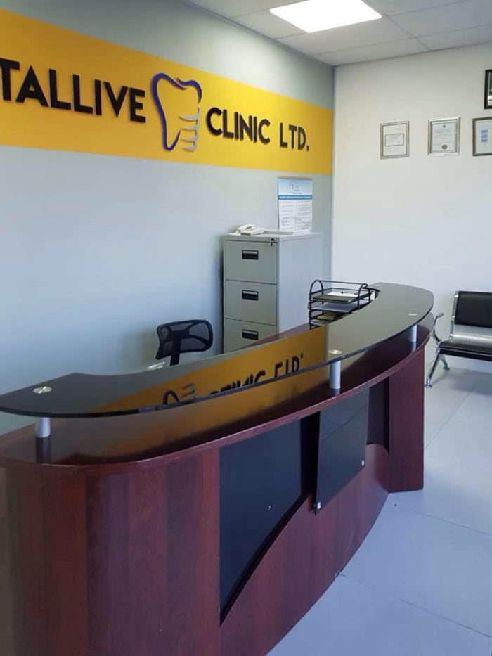 Professional services offered by Dentallive Clinic
