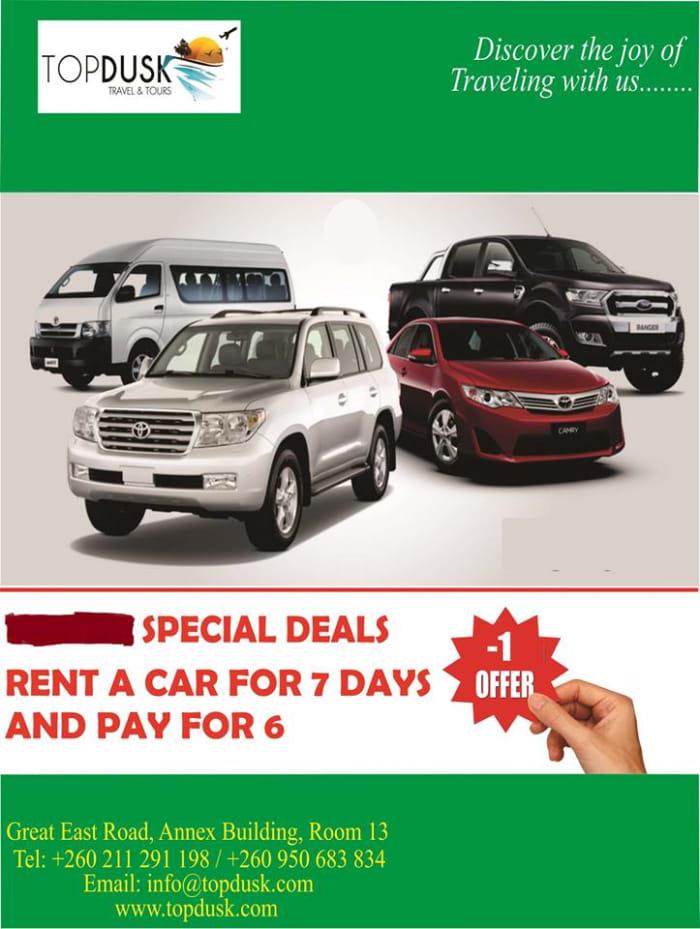 February car rental discount