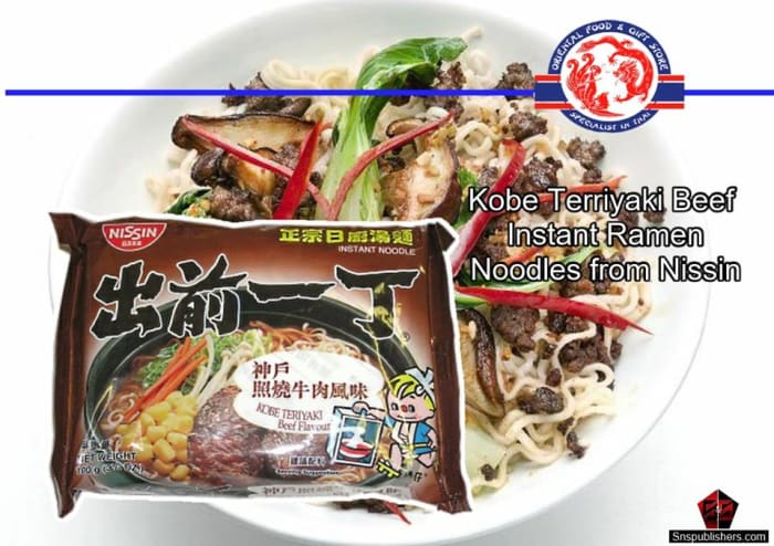 Instant ramen noodles available in stock
