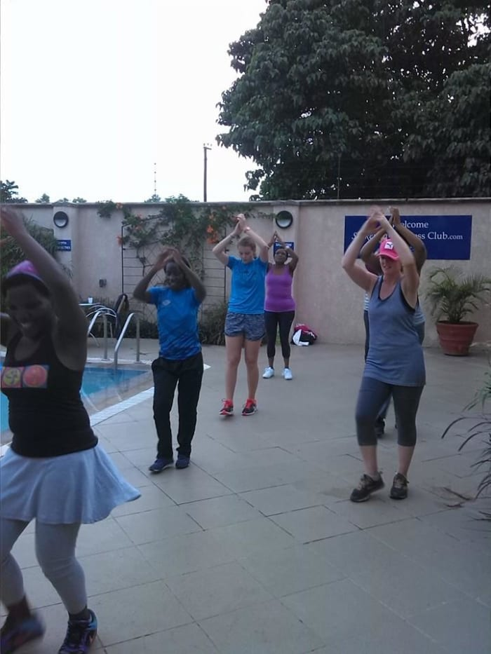 Aerobics and Zumba classes at Shakespeare Court