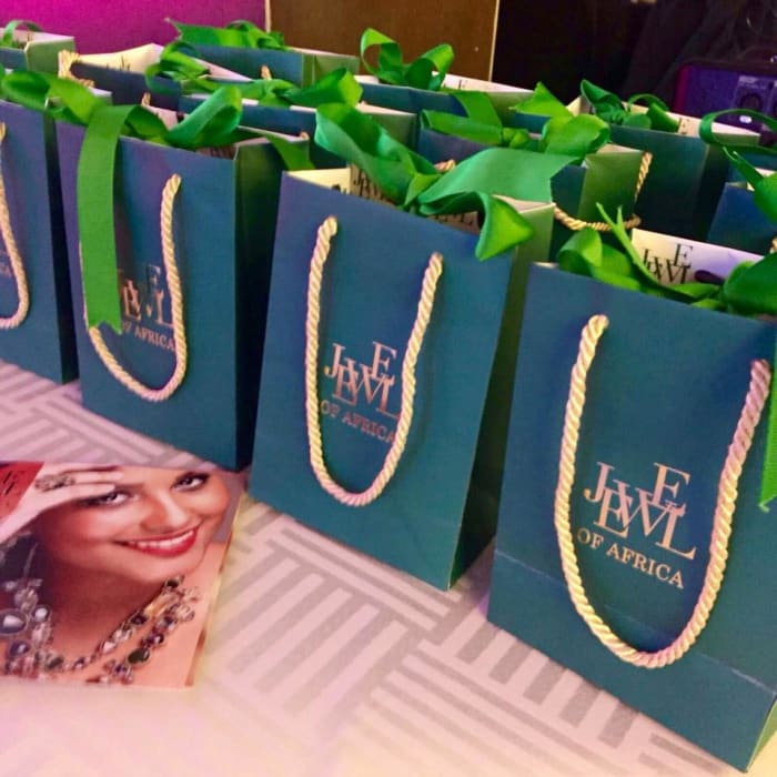 Special gifts for the PUSH Women Award recipients