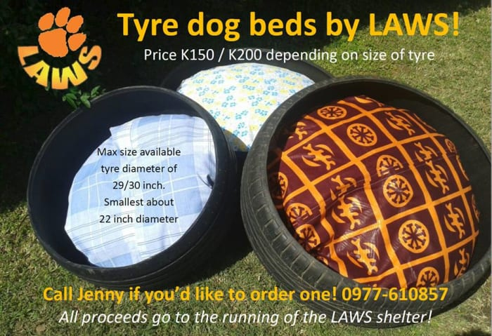 Tyre dog beds for sale