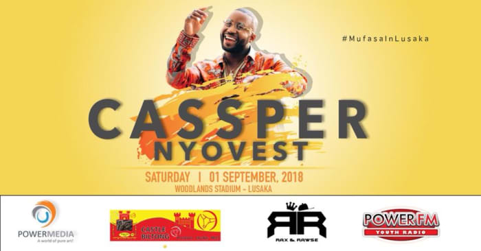 Cassper Nyovest live in Lusaka