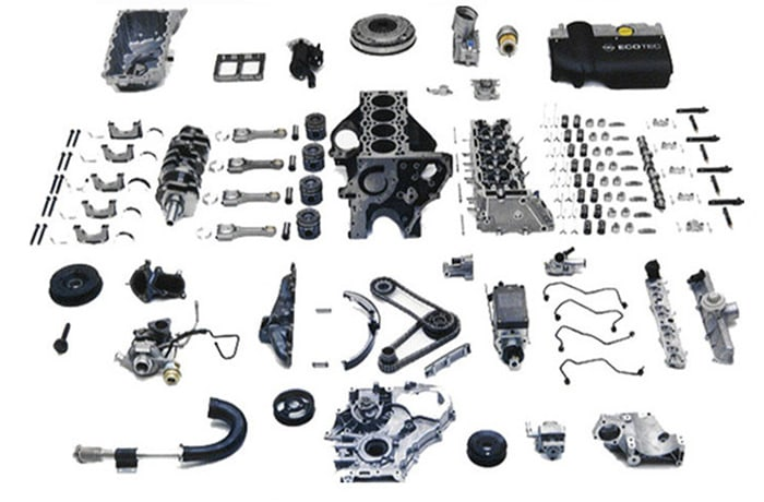 Full range of Higer parts and spares