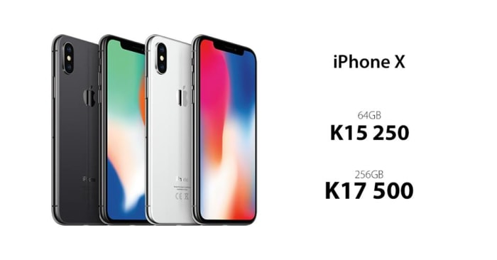 iPhone X now available in store