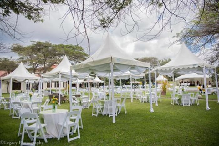 Event equipment supplied for Matebeto Ceremony