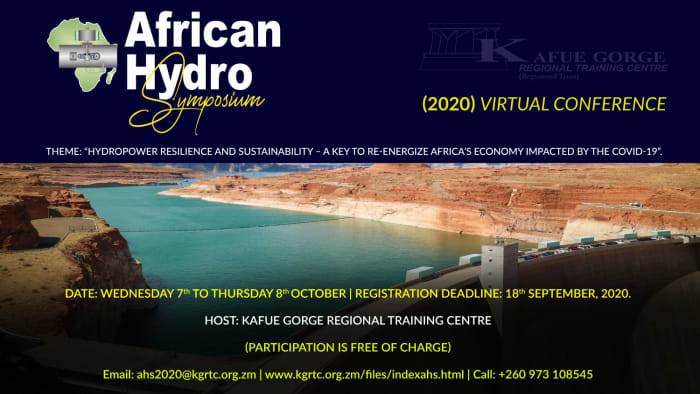The 30th African Hydro Symposium (2020) virtual conference